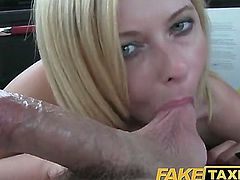 Fake Taxi NICE BLONDEE