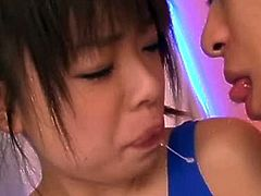 Pretty Young Japanese Girl's Hairy Cunt Creampied