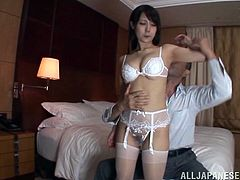 Spectacular Yuuka Tachiban Gets Her Pussy Fingered Before Going Hardcore