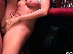 Brianna Love is curious about oral sex with hot dude John West