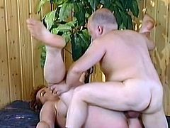 Great fuck for busty mature in heats