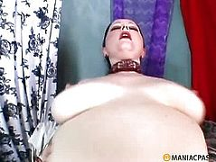 Oily stuff fucked with a man