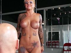 Gorgeous cougar with big tits yells as she is given an awesome rim job then gives a blowjob before she is drilled hardcore