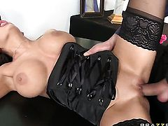 Nick Lang has a good time fucking playful Allison Stars mouth