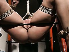 Brunette Mandy Bright satisfies her sexual desires with Salome