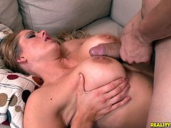 Check out this hardcore scene where the smoking hot blonde Holly Heart is fucked by one of her coworkers in the office.