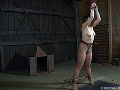 Siouxsie has a fantasy, she would like to be tied and disciplined by a rough man. The brunette is so excited at the thought of it that she keeps on dreaming how she will be tits and pussy tortured, spanked and much more. Who knows, maybe dreams really do become reality! Enjoy it!