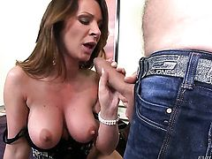 Pamela Smile and Ian Scott believe that ass fucking is the most enjoyable kind of sex action