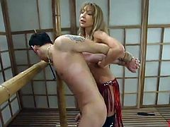 Bigtitted Sleaze MILF Dominates the person inside Mad tied movie