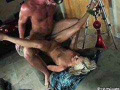 Kacey Jordan asks man for a good hard pussy stuffing