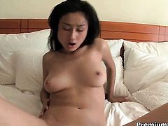 Exotic gets impaled on meat stick by hot dude in interracial porn action