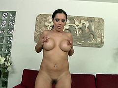 Francesca Le rubs her pussy with a toy in hardcore solo video