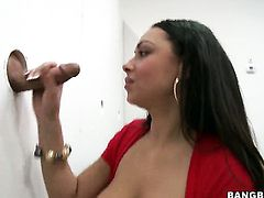 Bethany Benz with big butt is in the mood for cock stroking
