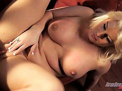 Great sex with the heart stopping blonde Julie Cash