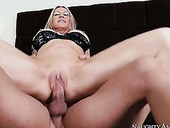 Johnny Castle pulls out his meat stick to fuck Oriental Emma Starr
