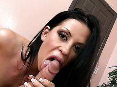 Larissa Dee is desperate for man goo