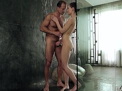 erotic love making in the shower