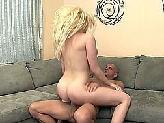 Hot Blonde Kagney in a hot scene.