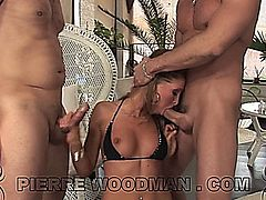LAURYN MAY gets DP'ed. This video is in 720 HD format.