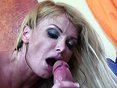 Blonde milf with massive tits Taylor Wayne fucked hard