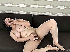 four hairy matures and amateur mature hairy with dildo