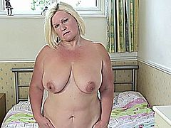 BBW Mature Stripping.