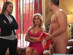 Capri Cavanni gets eaten out during ffm with Dani Daniels