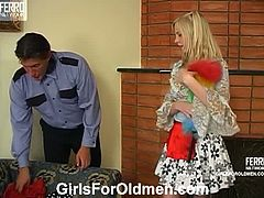 Paulina is one of the adorable teens who is into old men and so playful. But when it starts the hardcore action she unleashes her inner wildness going all the way.