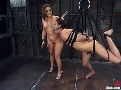 helpless man captive in the basement