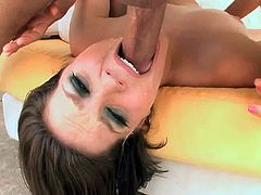 Bobbi Starr and her gagging throat...bd32