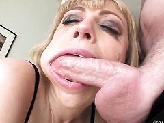 Jonni Darkko loves juicy Adrianna Nicoles amazing body and fucks her mouth as hard as possible