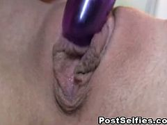 Kourtney Scarlett is so gorgeous for a horny babe and you can't believe how horny she is as she was always seen pleasuring her shaved pussy whether its fingers or her dildo.