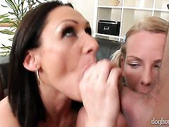 George Uhl attacks yummy Kattie GoldS mouth with his love torpedo