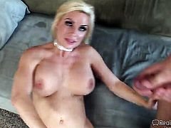 Black Carolyn Reese is a sex pro and heres the proof in hardcore sex action with Joey Brass