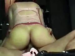 Amateur big butt wife getting fucked