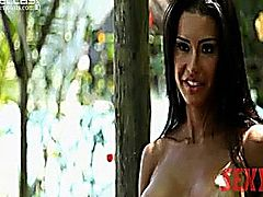 GRACYANNE BARBOSAA NUDE MODEL SHOOT WOW