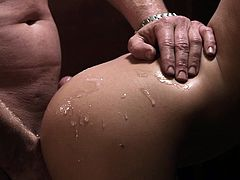 Hardcore banging scene with porn sweet hottie BiBi Jones