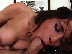 Renae Cruz gets all her holes fucked remarcably well