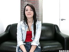 Natalie Heart wants this blowjob session with hard cocked bang buddy to last forever