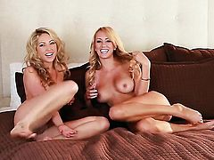 Seductive babe Brett Rossi cant stop fingering her love hole