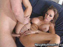 Dyanna Lauren makes a dirty dream of never-ending fucking with horny dude Danny Wylde a reality