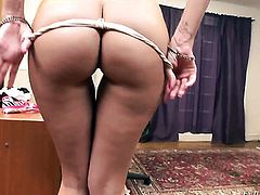 Jenny Hendrix lets dude shove his rock hard love wand in her mouth