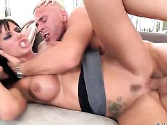Mick Blue makes Gia DiMarco suck his thick love wand non-stop before bottom fucking