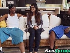 Two Monsters One Mia Khalifa