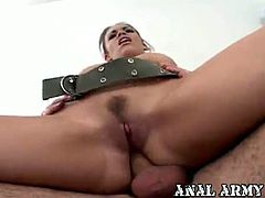 Anal Army brings you very intense free porn video where you can see how the amateur slut Gia Paloma gets assfucked very hard into a massively intense anal orgasm.
