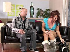 redhead savannah craves for a big cock @ young freaks #02
