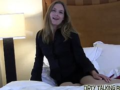 That's right bitch!  Stroke your cock for me come on I want to see it get nice and big and THROBBING.  I'm going to tease and taunt you until you can barely take it anymore.