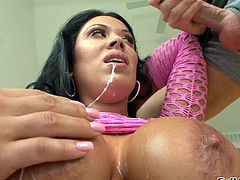 This is a nasty fuck scene with a hot pussy fucking a hot stud's big cock hardcore anal doggystyle with a hot cum in the mouth.