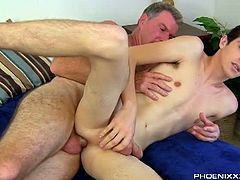 Daddy Brett Anderson prefers having a sexy quality time with his younger fuck buddy twinks like this smooth skinned Conner Bradley as they bring their session from the pool to their room.