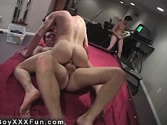 Twink sex An innocent game of pool, all of a sudden turns in